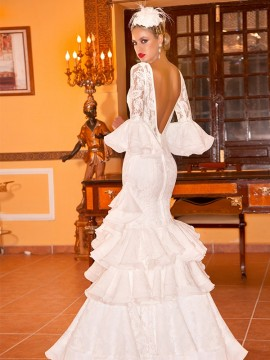 Flamenco-wedding-dress-lace