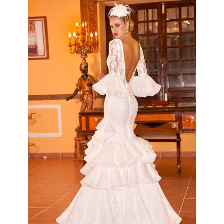Flamenco-wedding-dress-lace-2