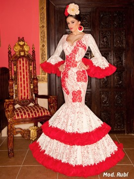 red-chiffon-flamenco-dress