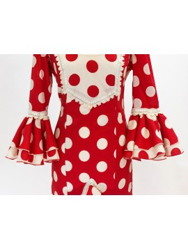 red-colour-dots-dress